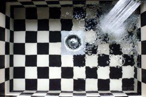 fuite d'eau douche